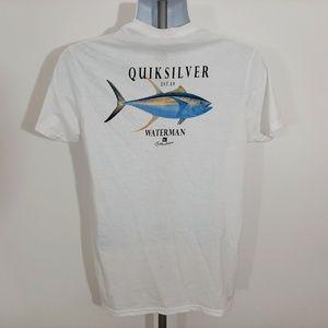 Quiksilver Waterman Collection Men's T-shirt Size
